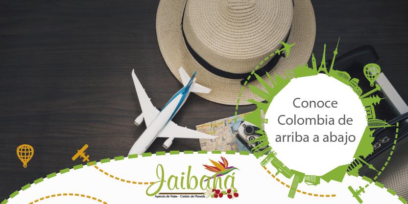 Conoce Colombia desde la Guajira, el eje cafetero y hasta el Amazonas